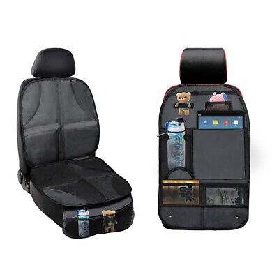 Waterproof Auto Car Seat Back Protector Cover for Kids Baby Kick Mat Protect
