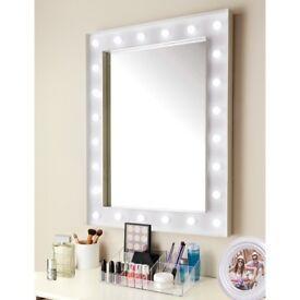 Hollywood Spotlight Mirror Battery 24 LED Bulb