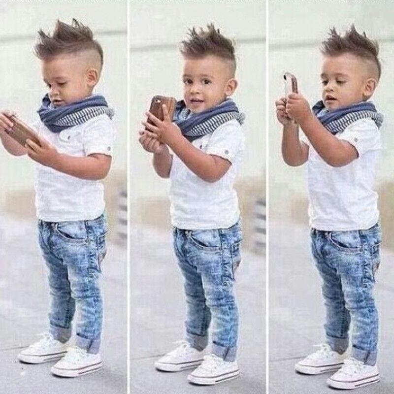 0066868ce Toddler Kids Baby Boys Shirt Tops Coat Pants Outfits Set Gentleman ...