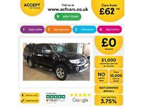 Mitsubishi L200 2.5DI-D CR ( EU V ) 4WD LB auto Barbarian £FROM £62 PER WEEK.