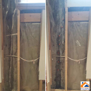 Permanent Foundation Crack Repair, Insured, WCB covered Edmonton Edmonton Area image 6