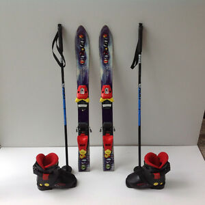Kids Ski Package  ( Skis Boots and poles)