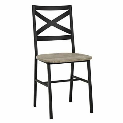 X-Back Dining Side Chairs (Set of 2) - Driftwood ()