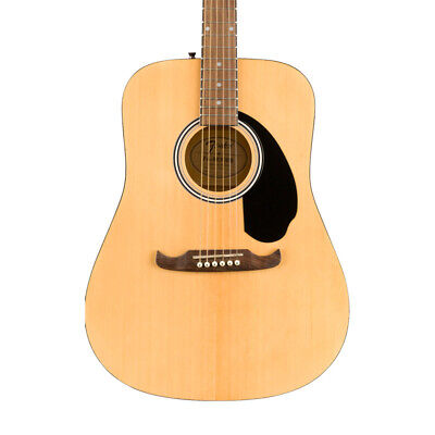 Fender FA-125 Dreadnought Acoustic Guitar with Gigbag, Natural (NEW)
