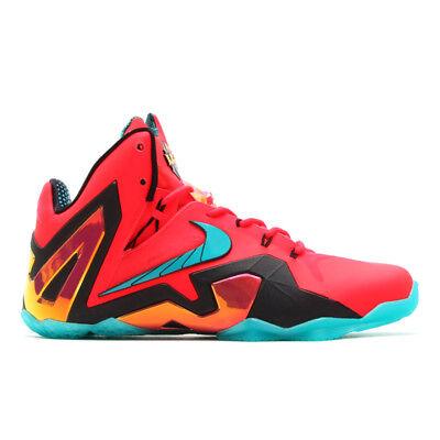 Mens Nike Air Lebron XI Elite Sneakers New,Super Hero Red 642846-600 SKU AA 12