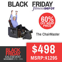 ChairMaster Recumbent Bike Cycle Black Friday Deals Blowout Sale