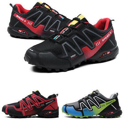 Hiking Shoes - Fashion Men Hiking Shoes Breathable Running Sports Sneakers Athletic Big Size 12