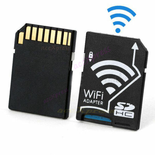 Wireless WiFi Micro SD TF Flash Card SDHC Memory Card Cordle