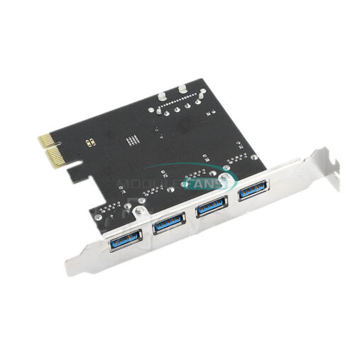 как выглядит 4 Port PCI-E Mini Card Slot Express Expansion to USB 2.0/3.0 Adapter Riser Card фото
