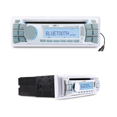 Caliber RCD232MBT CD SD USB AUX-IN FM Tuner wasserfestes Marine Radio Boot Yacht