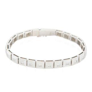 18ct WG Diamond Tennis Bracelet 1.80 Carat Total Diamond Weight
