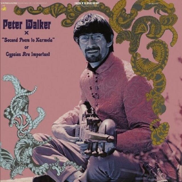 """PETER WALKER - """"SECOND POEM TO KARMELA"""" OR GYPSIES  CD NEU"""