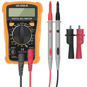 Digital Multimeter, Multimeter Voltage Tester Digital Battery Ci