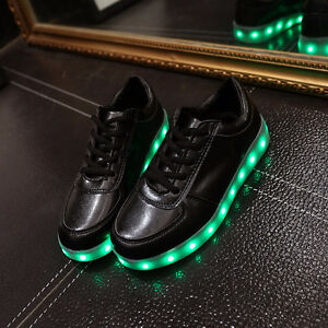 UNIQUE GIFT - Adult-Size LED Sneakers!