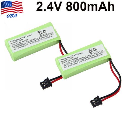 2X 2.4V 800mAh For Uniden BT-1021 BT-1025 BT1025 CPH-515B Cordless Phone Battery