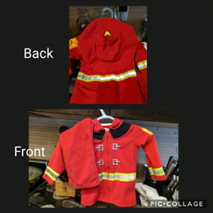 Carter's 24 month size firefighter costume/clothing