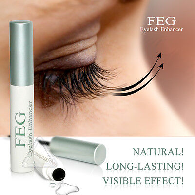 FEG Eyelash Enhancer Eye Lash Rapid Growth Serum Liquid 100% Original 3ml UK