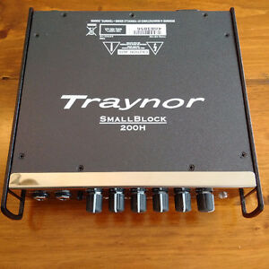 Traynor SB200 Bass Amp – Barely used, Excellent Condition