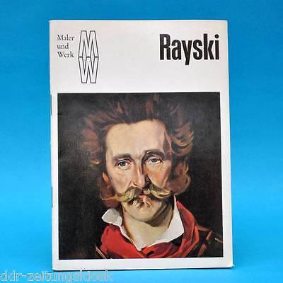 DDR   Maler und Werk   Ferdinand von Rayski   1976   Bild Gemälde Malerei