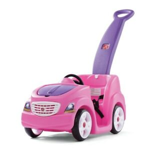Step2 PUSH CAR Push Around Buggy with Cup Holder & Storage SWEET