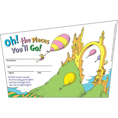 Seuss-Oh The Places Youll Go - The Places Youll Go