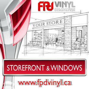 Storefront & Window Design - Photo Mockups Available