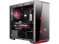 New Core i5 Gaming PC - GTX 1050, CPU i5 3.8GHz x4core, 8/16GB RAM, 120/240gb SSD, 1/2TB HDD