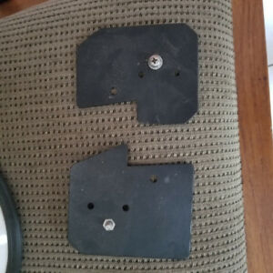 BMW K1200RS foglight mounting brackets