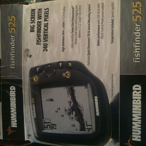 New never used depth fish finder