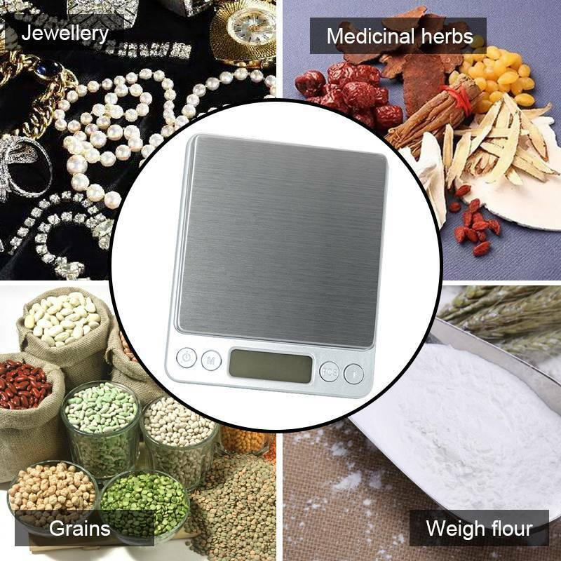 Kitchen Weighing Scale Digital Gram Accurate0.1g