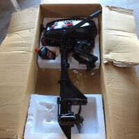 2.5 HP Mercury outboard motor in like new condition