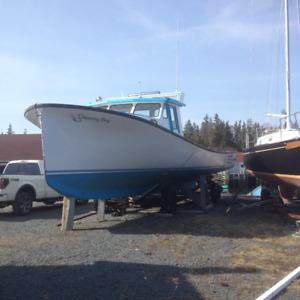 42ft Cape Egmont Lobster boat