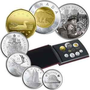 2019 CANADA SPECIAL EDITION 75TH ANNIVERSARY OF D-DAY SILVER SET