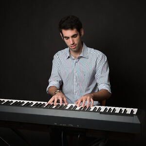 Pianist and accordionist for weddings, parties, and more!
