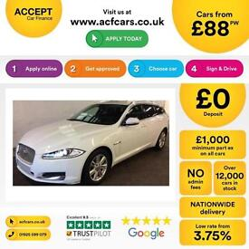 Jaguar XF FROM £88 PER WEEK!