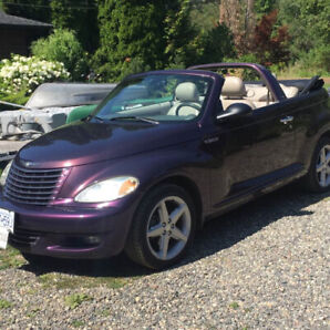 2005 Chrysler PT Cruiser Turbo GT Convertible