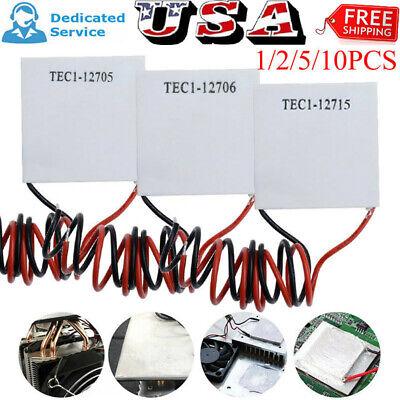 Tec1-127051270612715 Heatsink Thermoelectric Cooling Peltier Plate Module New