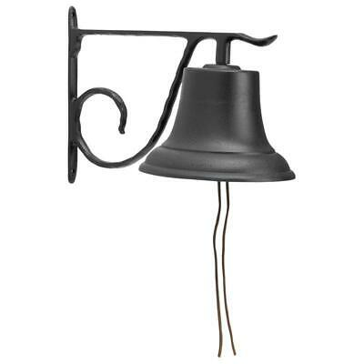 Whitehall Products 00604 Large Country Bell - Black Black Large Country Bell