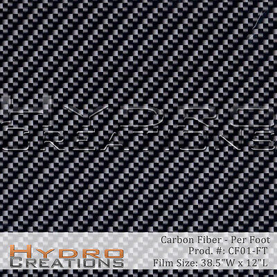 Hydrographic Film For Hydro Dipping Water Transfer Film Carbon Fiber - Per Foot
