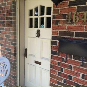 4 Metal Storm Doors and  Wooden Front Door Peterborough Peterborough Area image 5