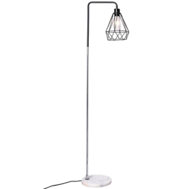 Industial Geometric Arched Floor Lamp