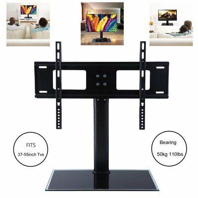 Universal TV-Standfuß 37-55Zoll 58-140cm LCD LED PLASMA Halter Fernseher Ständer 37 Lcd Tv