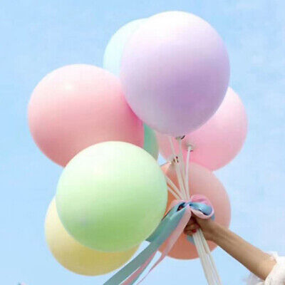 12/18/36 inch Latex Macaron Candy Pastel Balloons Wedding Party Arch Decor Jumbo (Pastel Balloons)