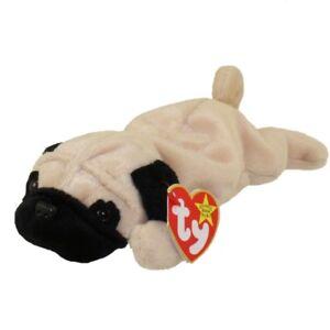 Pugsly the Pug Dog Ty Beanie Baby stuffed animal