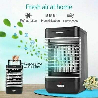 Air Conditioner Cooler Humidifier Purifier Fan Portable Cooling Flow Filter UK