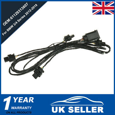 Front Bumper PDC Wiring Harness Parking Kit Set For BMW 3/4 Series F30 F32 12-18