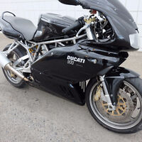 Heres your chance to get a rare 2001 Ducati Super Sport 900.