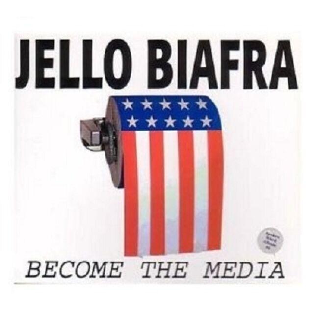 Biafra,Jello - Become The Media 3 CD Neuware