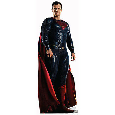 SUPERMAN Justice League CARDBOARD CUTOUT Standup Standee Poster Henry Cavill F/S