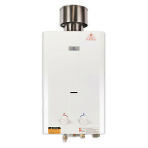 Tankless Water Heater Propane Portable 2.6 GPM Eccotemp L10